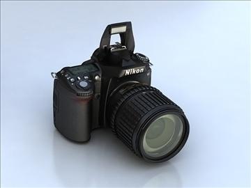 nikon d90 3d model 3ds max 105867