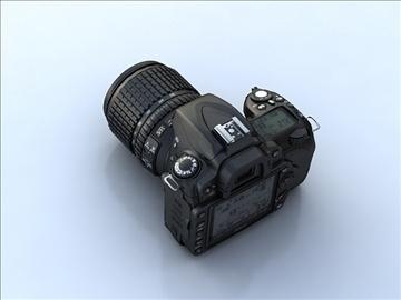 nikon d90 3d model 3ds max 105868