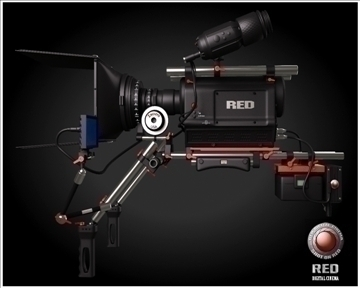 red camera 3d model 3ds max obj 99733
