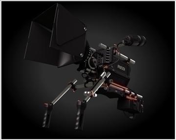 red camera 3d model 3ds max obj 99735