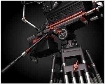 red camera 3d model 3ds max obj 99739