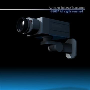 drošības kamera 3d modelis 3ds dxf c4d obj 84994