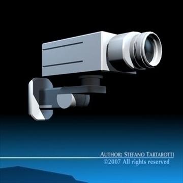 drošības kamera 3d modelis 3ds dxf c4d obj 84995