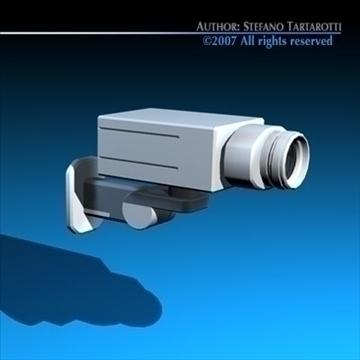 drošības kamera 3d modelis 3ds dxf c4d obj 84996