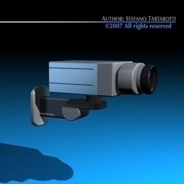 drošības kamera 3d modelis 3ds dxf c4d obj 84997