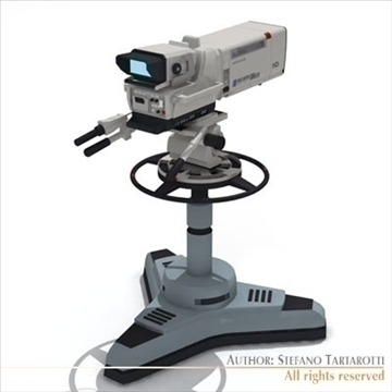 Sony hdc 1000 tv studijas kamera 3d modelis 3ds dxf fbx c4d dae obj 105999