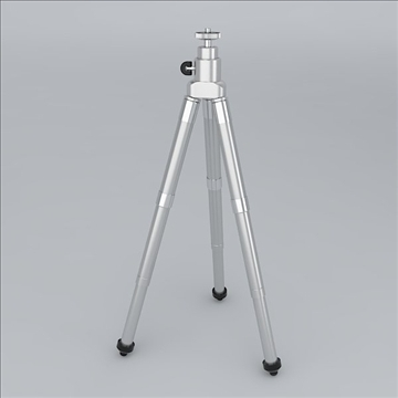 tripod 3d model 3ds 3dm obj 106773