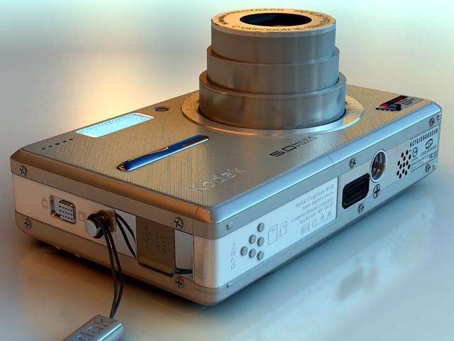 kodak easyshare v550 3d modelis max 124697