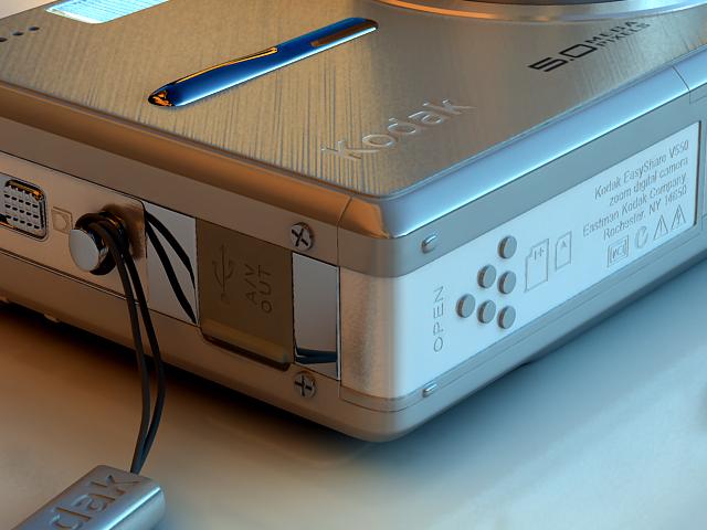 kodak easyshare v550 3d model max 124698