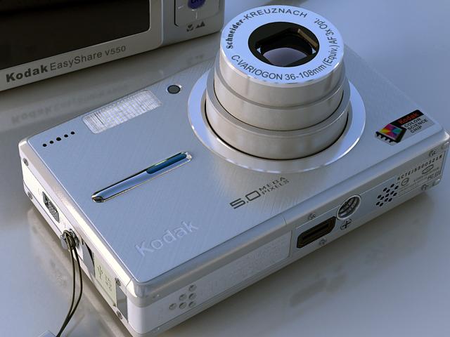 kodak easyshare v550 3d model max 124700