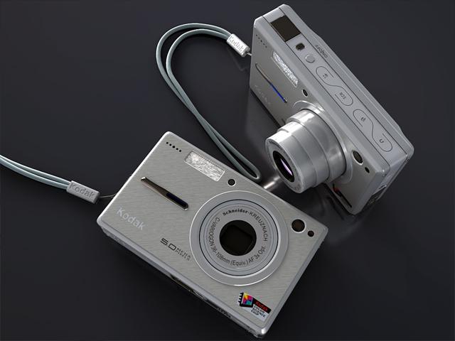 kodak easyshare v550 3d model max 124702