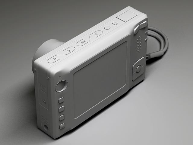 kodak easyshare v550 3d model max 124703