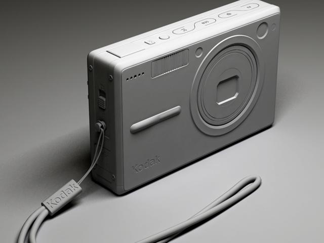 kodak easyshare v550 3d model max 124704