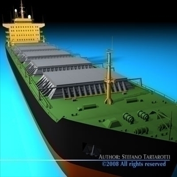 cargo ship 3d model 3ds dxf c4d obj 91884