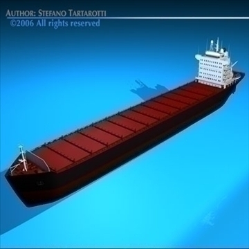 container ship 3d model 3ds dxf c4d obj 84732