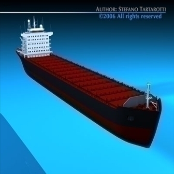 container ship 3d model 3ds dxf c4d obj 84736