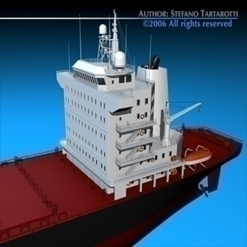 container ship 3d model 3ds dxf c4d obj 84738
