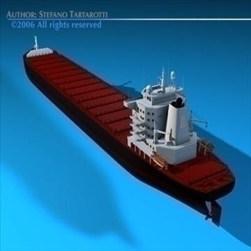 container ship 3d model 3ds dxf c4d obj 84740