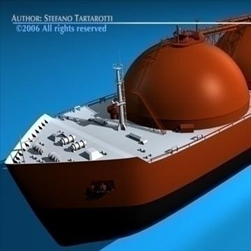 gas ship 3d model 3ds dxf c4d obj 84857