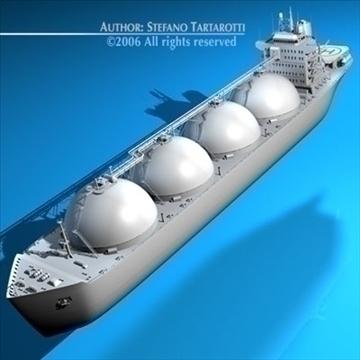 gas ship 3d model 3ds dxf c4d obj 84858