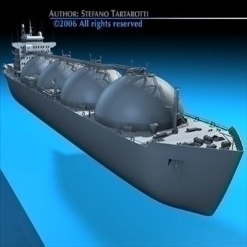 gas ship 3d model 3ds dxf c4d obj 84859