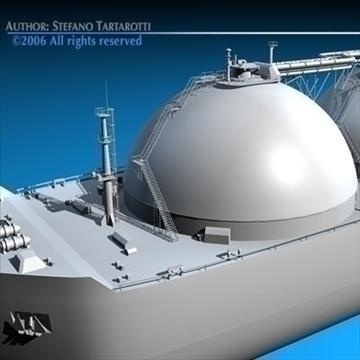 gas ship 3d model 3ds dxf c4d obj 84860