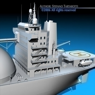 gas ship 3d model 3ds dxf c4d obj 84863