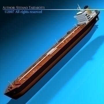 tankership 3d model 3ds dxf c4d obj 85307
