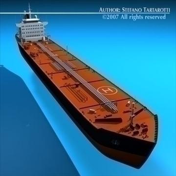 tankership 3d model 3ds dxf c4d obj 85308