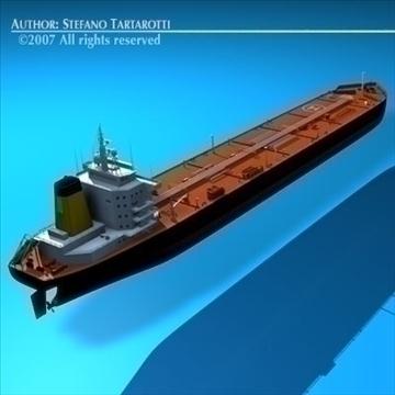 tankership 3d model 3ds dxf c4d obj 85309