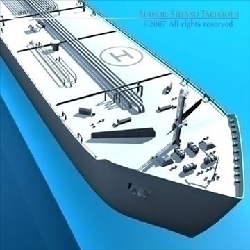 tankership 3d model 3ds dxf c4d obj 85313