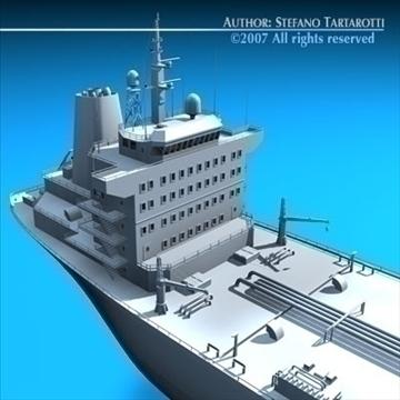 tankership 3d model 3ds dxf c4d obj 85314