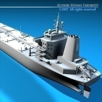 tankership 3d model 3ds dxf c4d obj 85315