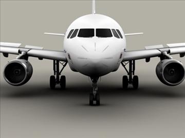 airbus a319 air france 3d model 3ds max obj 95404