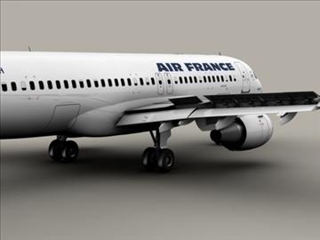 airbus a320 gaisa Francija 3d modelis 3ds max obj 95536