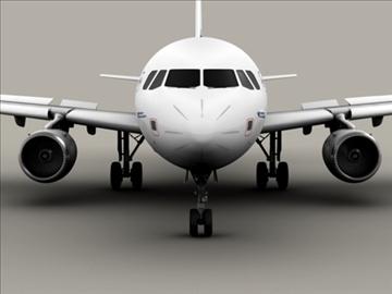 airbus a320 gaisa Francija 3d modelis 3ds max obj 95537