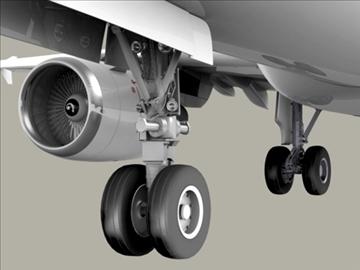 airbus a320 gaisa Francija 3d modelis 3ds max obj 95538
