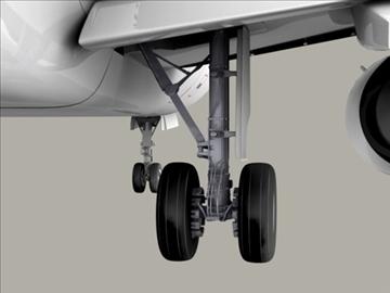 airbus a320 gaisa Francija 3d modelis 3ds max obj 95539