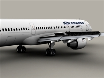 airbus a321 air france 3d model 3ds max obj 95546