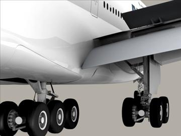 Airbus a380 агаарын франц 3d загвар 3ds max obj 95577