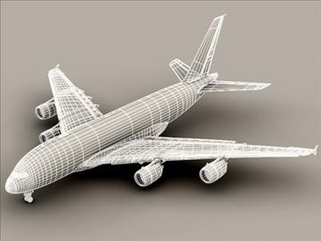 Airbus a380 агаарын франц 3d загвар 3ds max obj 95580