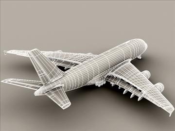 Airbus a380 агаарын франц 3d загвар 3ds max obj 95581