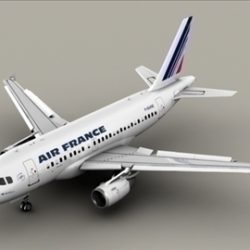 Airbus A318 Air France ( 53.99KB jpg by Behr_Bros. )