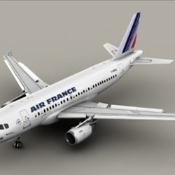 Airbus A319 Air France ( 51.83KB jpg by Behr_Bros. )