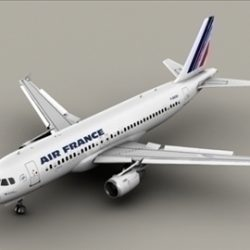Airbus A320 Air France ( 53.08KB jpg by Behr_Bros. )