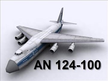 antonov an 124 100 ruslan (volga dnepr) 3d modell max 105724