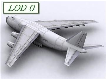 antonov an 124 100 ruslan (volga dnepr) 3d modell max 105731