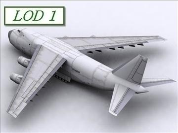 antonov an 124 100 ruslan (volga dnepr) 3d modell max 105732
