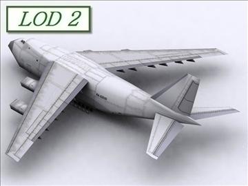 antonov an 124 100 ruslan (volga dnepr) 3d modell max 105733