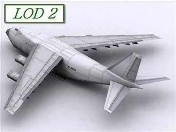 antonov an 124 100 ruslan (volga dnepr) 3d model max 105733